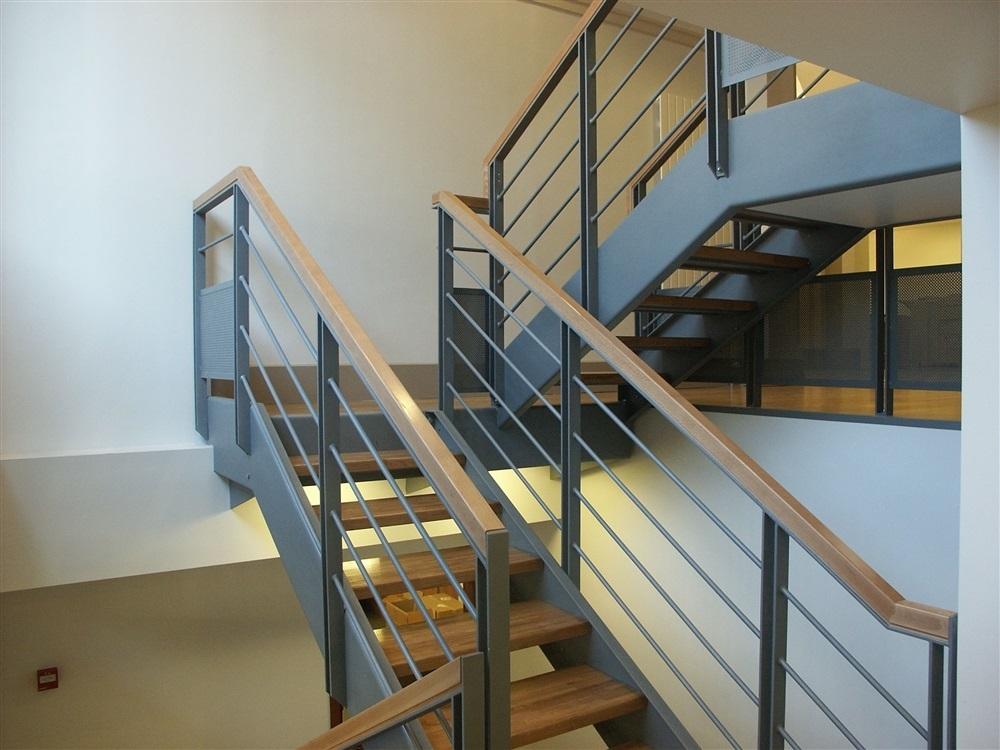 Détail sur l'escalier