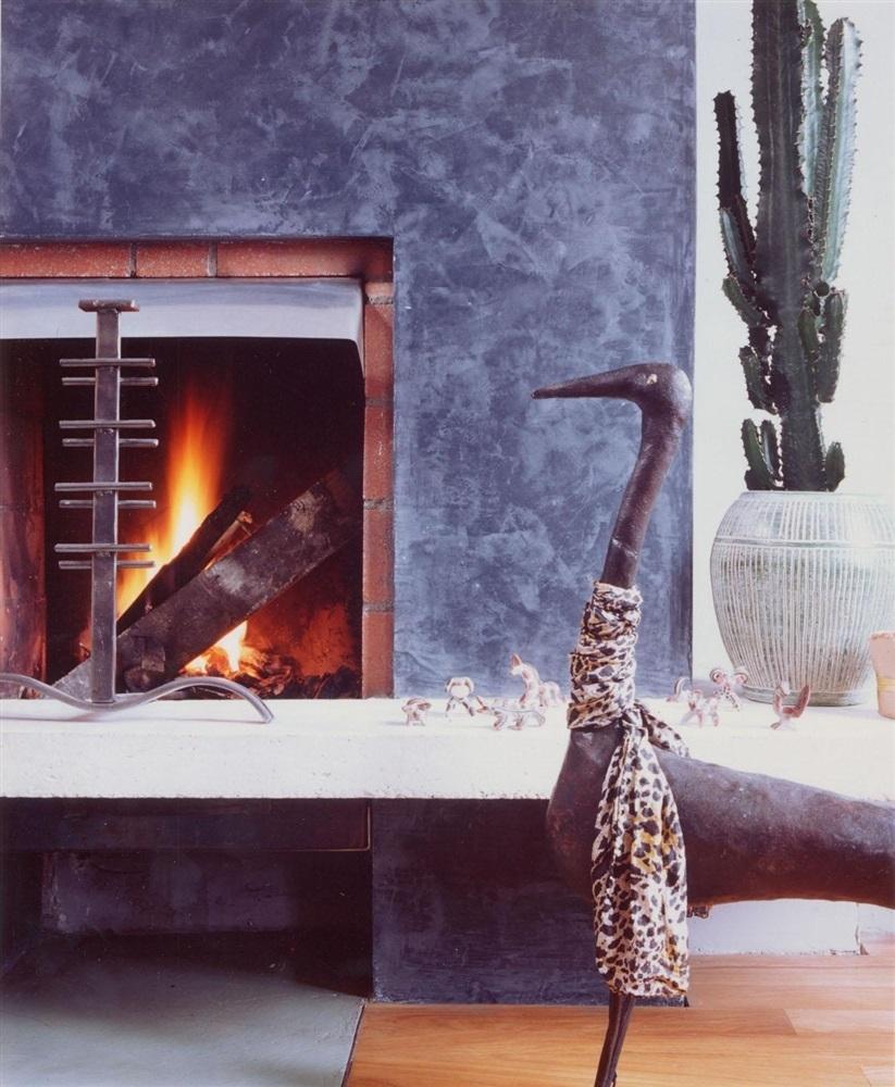 Détail de la cheminée© O. Hallot