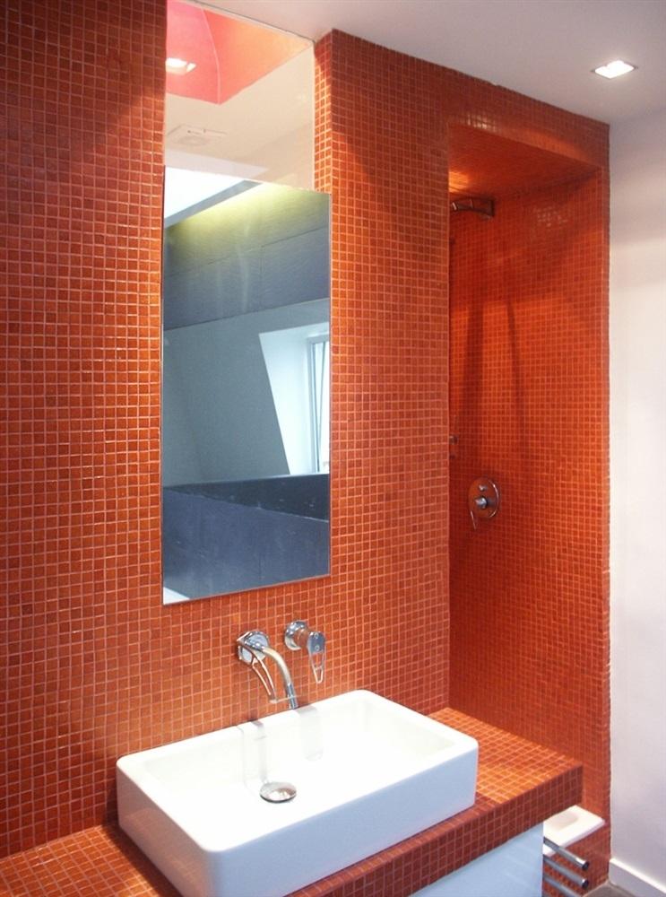 détail salle de bains