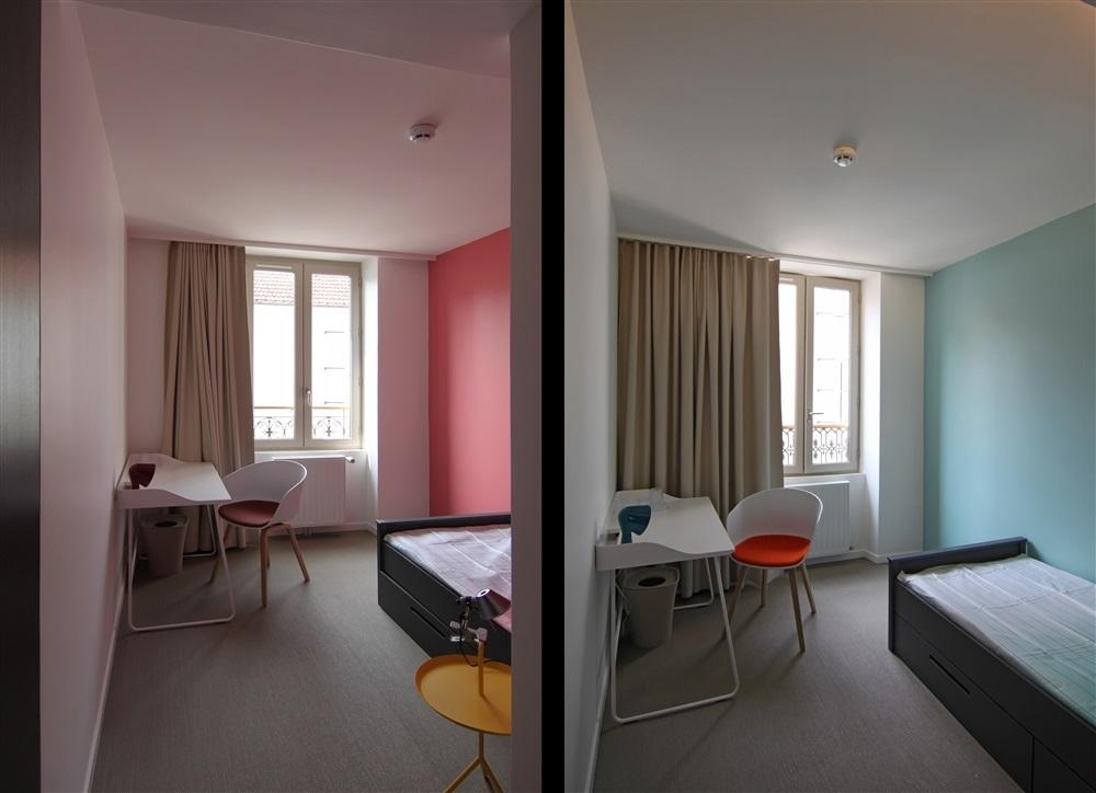 Chambre coté rue