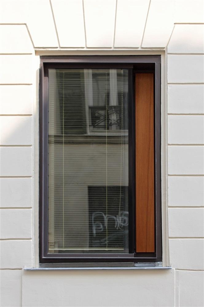 Détail Façade - 26 rue Levert Paris 20 ème