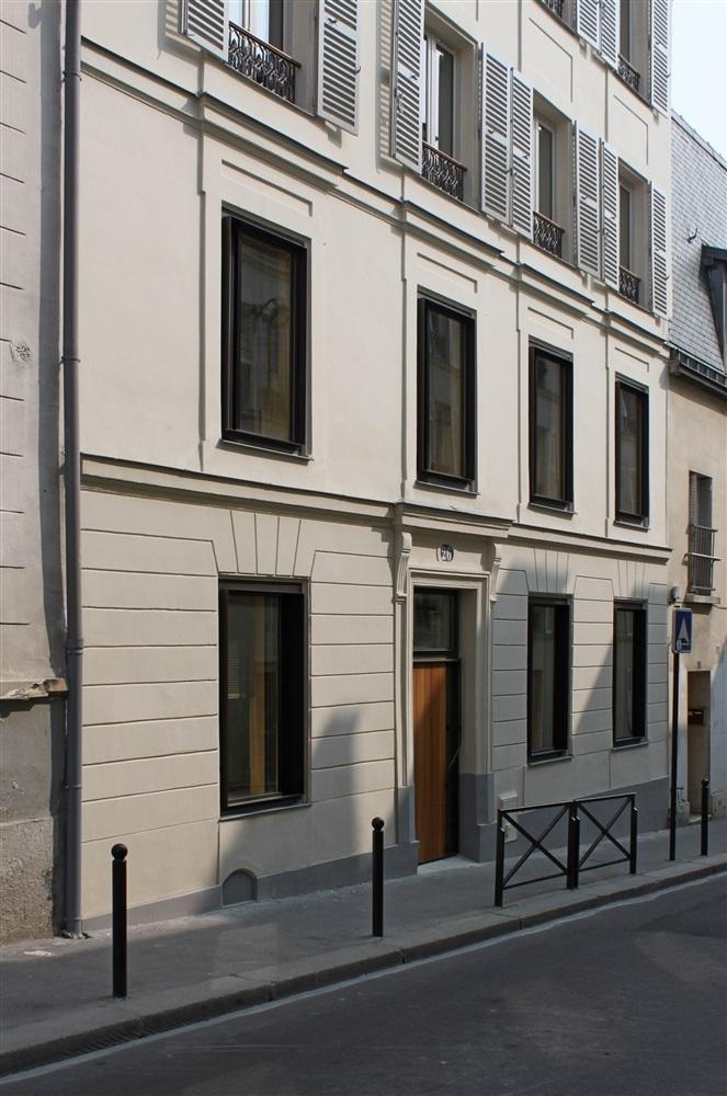 Façade - 26 rue Levert Paris 20 ème