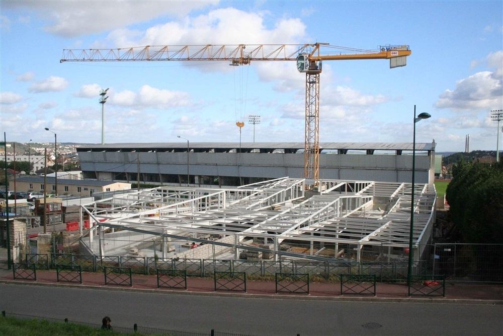 le chantier au 12 octobre 2012
